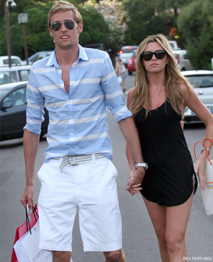 Peter Crouch confirms Abbey Clancy IS pregnant