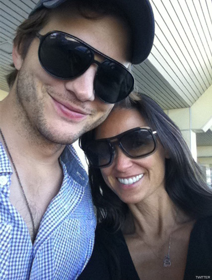 Ashton Kutcher and Demi Moore - Ashton Kutcher denies second cheating allegation - Demi Moore - Ashton Kutcher cheating - Star Magazine - Celebrity Scandals 2010 - Celebrity News - Marie Claire