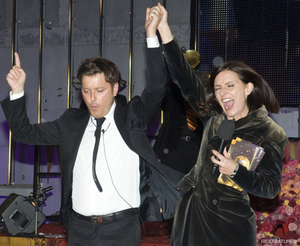 Brian Dowling and Davina McCall - Big Brother - Celebrity News - Marie Claire