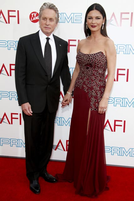 Michael Douglas and Catherine Zeta-Jones - Celebrity Photos - 12 June 2009