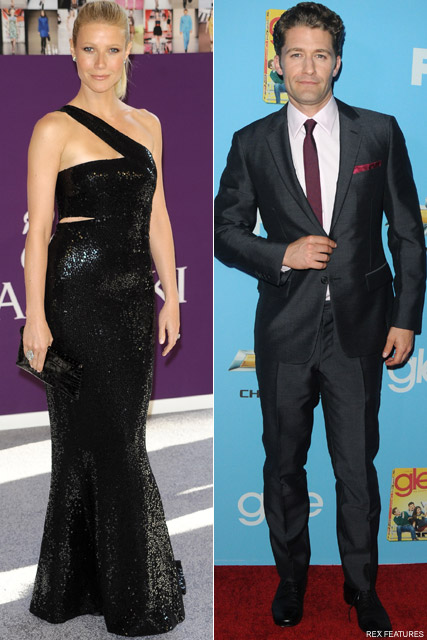 Matthew Morrison and Gwyneth Paltrow - Gwyneth Paltrow to guest star in Glee? - Glee - Celebrity News - Marie Claire