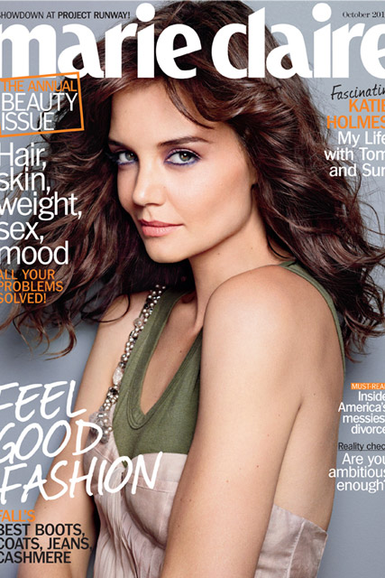 Katie Holmes - Marie Claire US - Marie Claire