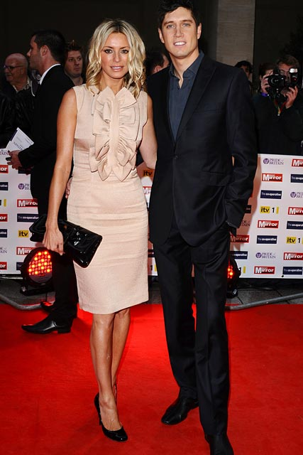 Tess Daly-and-Vernon Kay-Pride of Britain awards 2009-5 October 2009