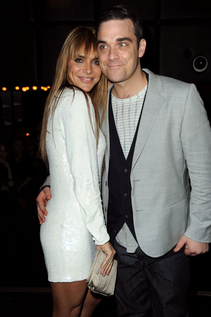 Robbie Williams and Ayda Field - Brit Award after-parties - Fashion - Marie Claire