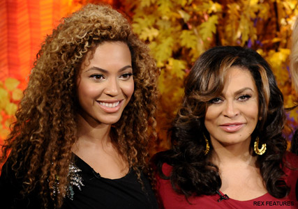 Beyonce and Tina Knowles -