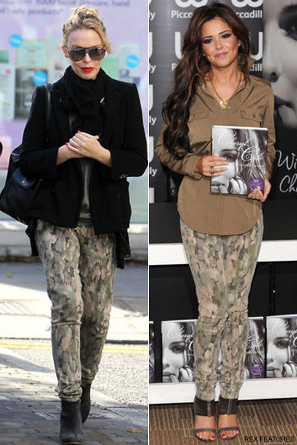 Cheryl Cole & Kylie Minogue - Who Wore it Best? Cheryl VS. Kylie - Style Snap - Cheryl Cole style - Fashion News - Marie Claire