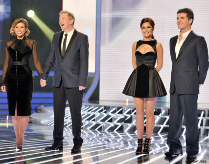 Cheryl Cole and Simon Cowell - X Factor judges go to war - X Factor split - X Factor 2010 - Celebrity News - Marie Claire