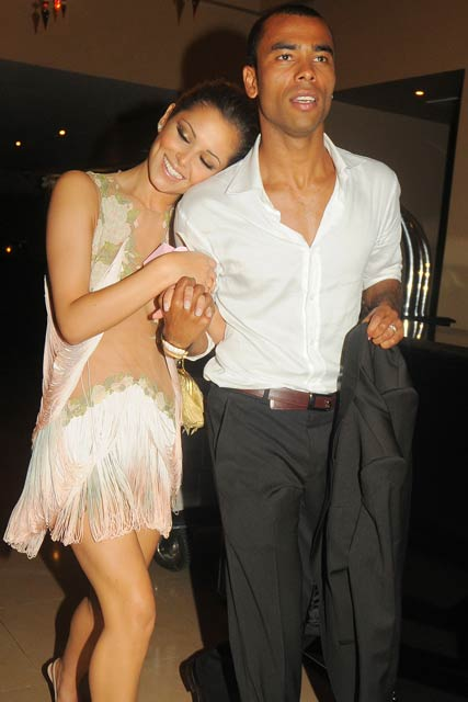 Ashley cole and girlfriend