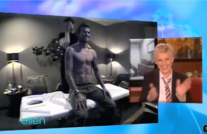 David Beckham - WATCH! David Beckham?s hilarious chat show set up - Ellen DeGeneres - David Beckham Ellen - Celebrity News - Marie Claire