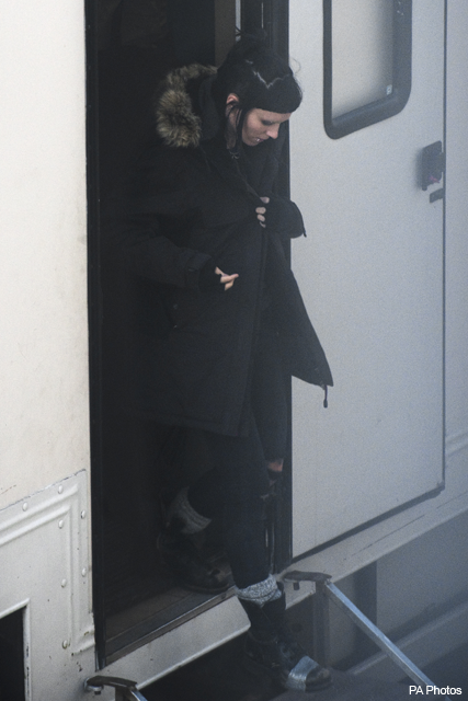 Rooney Mara - The Girl with the Dragon Tattoo - on set, filming, location, Sweden, Stockholm, see, first, look, actor, actress, Millenium, Stieg Larsson, Lisbeth Salandar, Mikael Blomkvist, news, Marie Claire