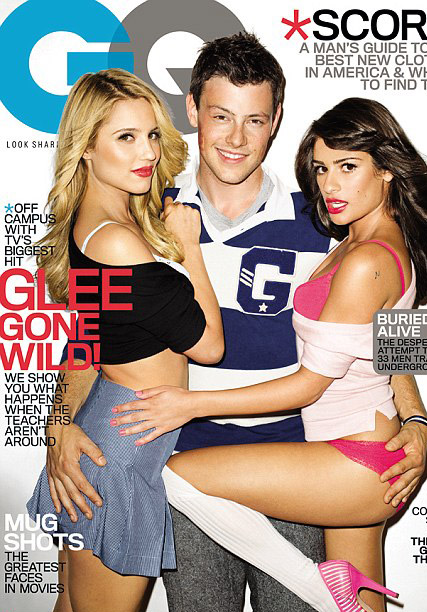 Dianna Agron - Glee star Dianna Agron apologises for racy shoot - Glee gq - Glee gq Photo Shoot - Glee GQ Photos - Lea Michele - Celebrity News - Marie Claire