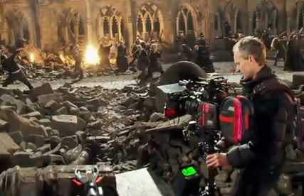 Harry Potter and the Deathly Hallows - FIRST LOOK! Behind the scenes on the Harry Potter set - Deathly Hallows - Emma Watson - Daniel Radcliffe - Harry Potter - Deathly Hallows trailer - Celebrity News - Marie Claire