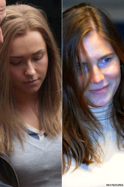 Hayden Panettiere -FIRST PICS! Hayden Panettiere as Amanda Knox - Amanda Knox - Celebrity News - Marie Claire