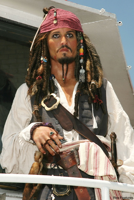 Johnny Depp spends £40,000 on coats for Pirates ?crew?