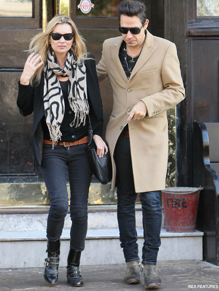 Kate Moss and Jamie Hince - Kate and Jamie Hince married! - Kate Moss - Jamie Hince - Married - Wedding - Celebrity News - Marie Claire
