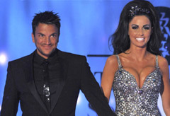 Katie Price and Peter Andre, celebrity news, marie claire