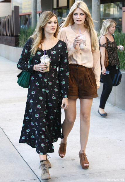 Mischa Barton and Fearne Cotton - Mischa Barton And Fearne Cotton - Celebrity News - Marie Claire