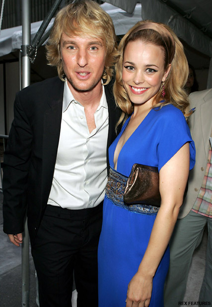 Rachel McAdams and Owen Wilson - Rachel McAdams dating Michael Sheen - Celebrity News - Marie Claire