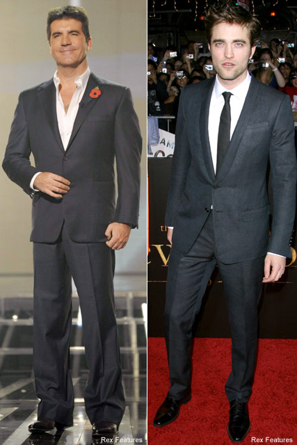 Robert Pattinson & Simon Cowell- - Twilight - Celebrity News - Marie Claire