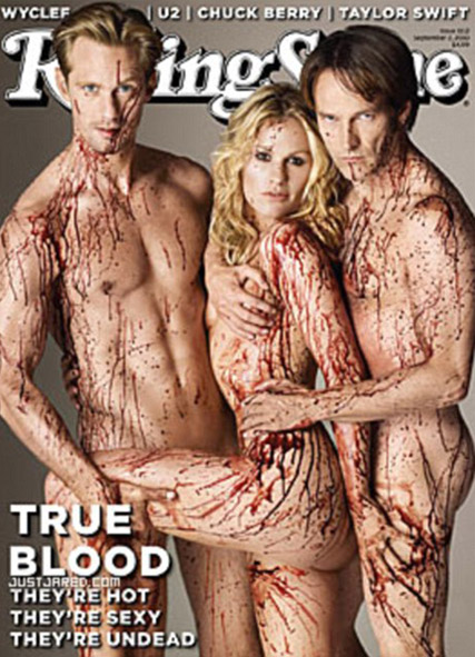 True Blood - FIRST LOOK! True Blood stars' shocking Rolling Stone cover - True Blood - Celebrity News - Marie Claire