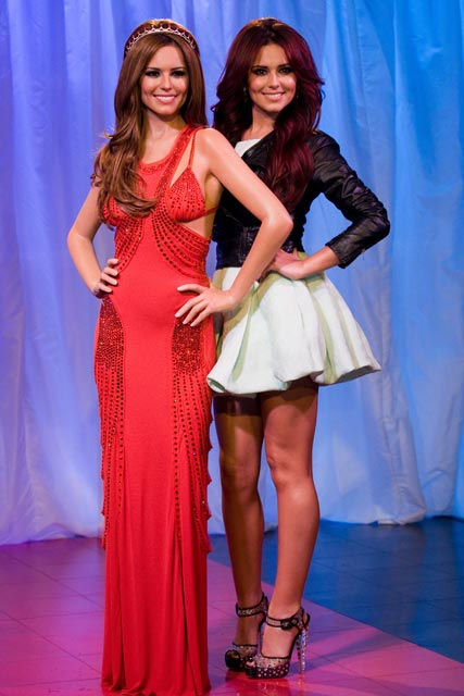 Cheryl Cole waxwork unveiled at Madame Tussauds