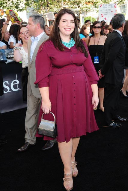 Stephenie Meyer at the LA Twiligh Eclipse premiere - pics!