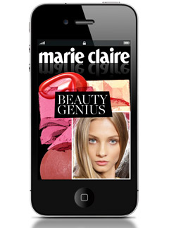 Marie Claire Launches Beauty App, Beauty Genius, Hair & Make-Up How to videos