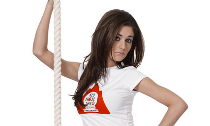 Cheryl Cole, Celebrity Photos, Red Nose Day, Marie Claire News