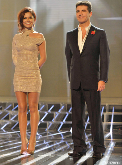 -Cheryl Cole and Simon Cowell- Cheryl Cole