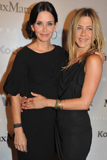 Courteney Cox and Jennifer Aniston-Crystal and Lucy Awards 2010-Celebrity Photos-1 June 2010