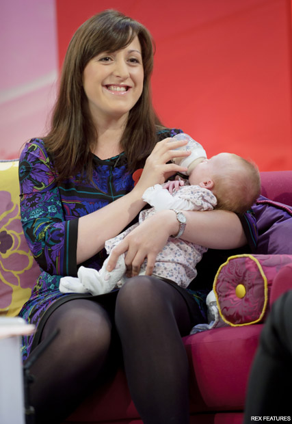 Natalie Cassidy - New mums at war! Denise Van Outen attacks Natalie Cassidy in angry Twitter outburst - Twitter - Denise Van Outen Twitter - Celebrity News - Marie Claire