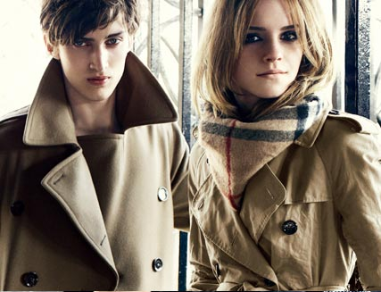 Emma Watson, Face of Burberry