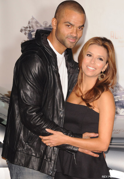 Eva Longoria and Tony Parker - Eva Longoria and Tony Parker hit by divorce rumours - Celebrity News - Marie Claire