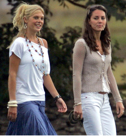 Kate Middleton and Chelsy Davy - Kate Middleton and Chelsy Davy teaming up for World Cup - Kate Middleton - Prince William - Prince William and Kate Middleton - Celebrity News - Marie Claire