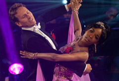 Michelle Williams and Brendan Cole - Strictly Come Dancing 2010 - out, leaves, left, competion, lowest, fewest, votes, Destiny's Child, news, latest, pictures, Marie Claire