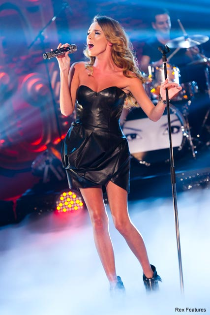 Nadine Coyle sings her solo single Insatiable on The Paul O