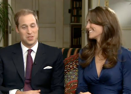 Prince William and Kate Middleton - Prince William Engaged - Prince William and Kate Middleton Engaged - Prince William Engagement - Prince William Wedding - Catherine Middleton - Kate Middleton - Celebrity News - Maire CLaire