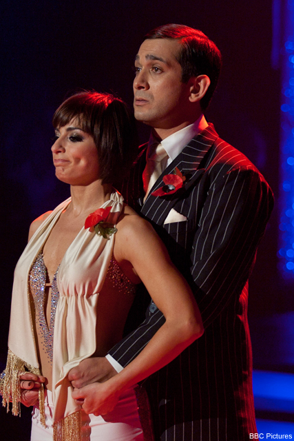 Jimi Mistry gets boot from Strictly and backs Anne to win