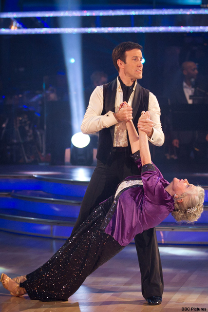 Ann Widdecombe - Strictly Come Dancing - Marie Claire