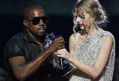 Kanye West & Taylor Swift - Celebrity News - Marie Claire
