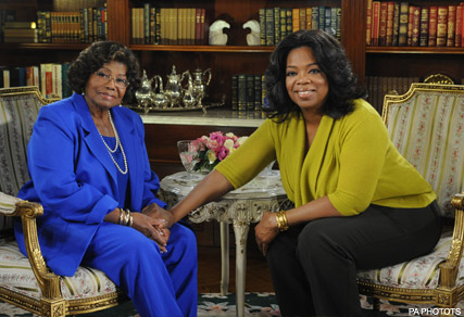 Katherine Jackson and Oprah - FIRST PICS! Michael Jackson?s children on Oprah - Michael Jackson - Michael Jackson