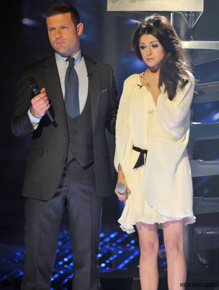 Cher Lloyd and Dermot O