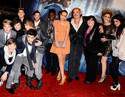 X Factor Contestants - Harry Potter Premiere - Simon Cowell planning shock double X Factor Eviction - X Factor - Xfactor - Celebrity News - Marie Claire
