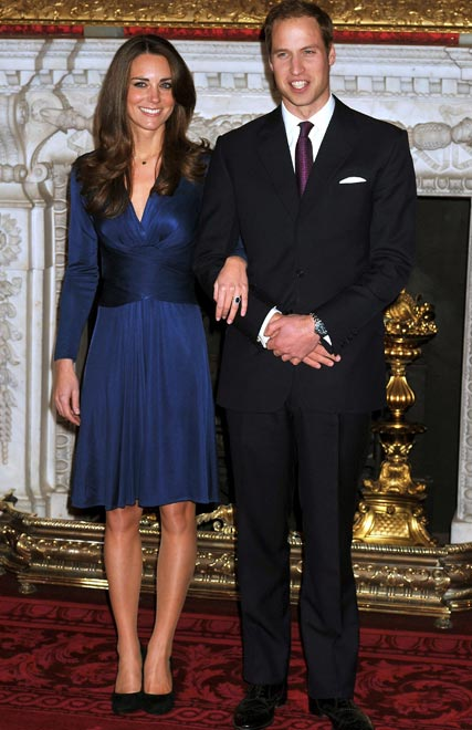 Prince William and Kate Middleton official engagement photos
