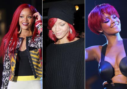 Rihanna debuts new long hairstyle - extensions