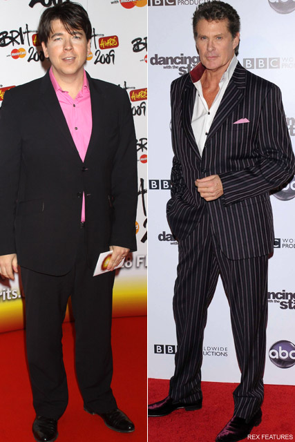Micheal McIntyre and David Hasselhoff - Britain?s Got Talent: New judges revealed - Britain