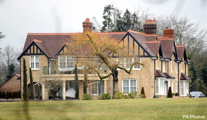 Hurtmore House - Cheryl & Ashley Cole - Celebrity News - Marie Claire