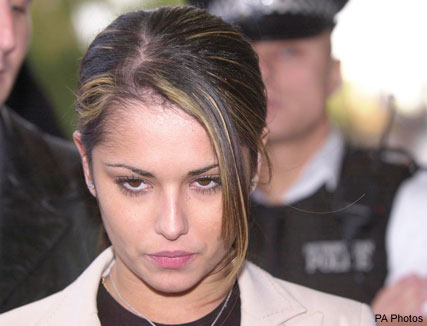 Cheryl Cole court case in 2001
