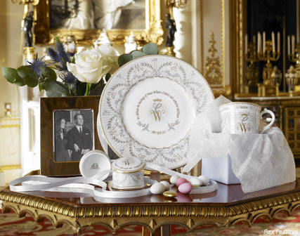 Prince William and Kate Middleton Wedding China - Prince William and Kate Middleton - Royal Wedding - Marie Claire