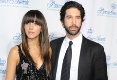 David Schwimmer and Zoe Buckman - David Schwimmer and Zoe Buckman expecting first child - Celebrity News - Marie Claire